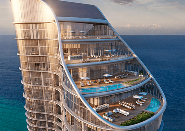 The Ritz-Carlton Residences em Sunny Isles e Fendi Château Residences em Punta Del Este