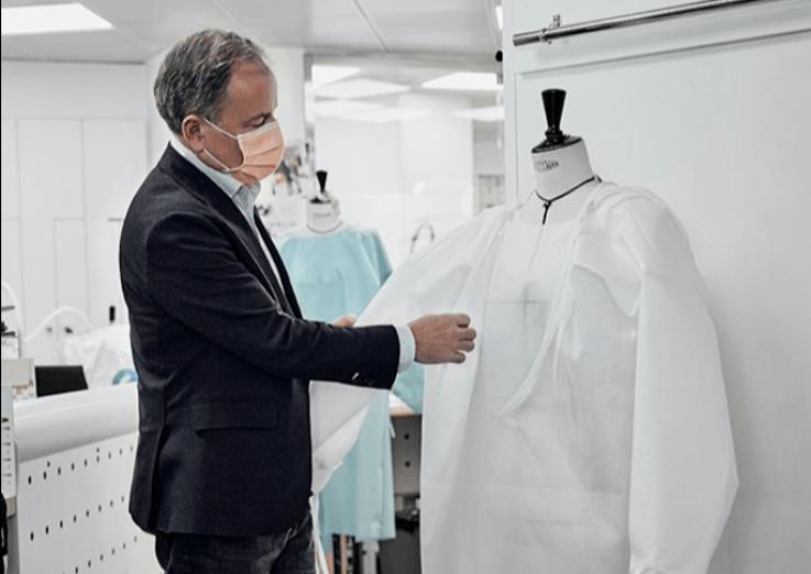 Como as Grifes de Luxo Estão Ajudando no Combate à Pandemia