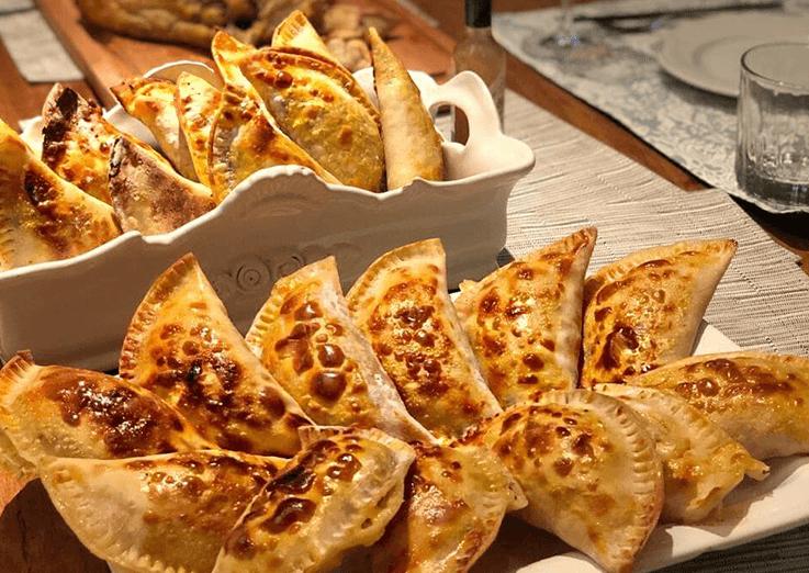 Empanadas em casa