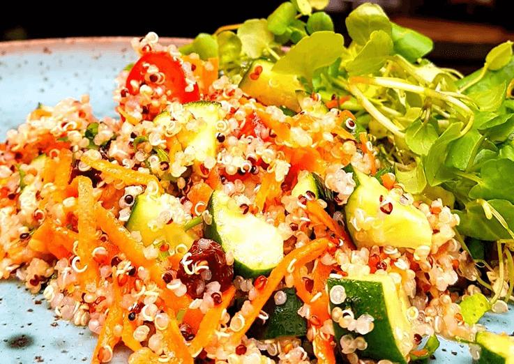 Quinoa, uma receita leve e fácil de fazer