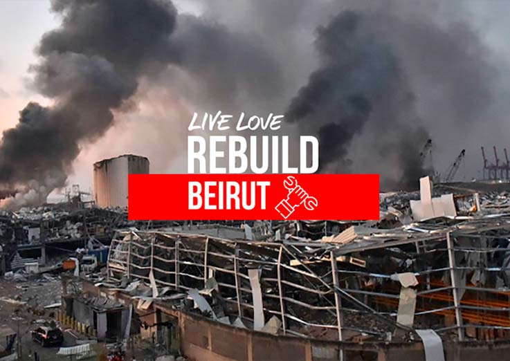 Reconstruindo Beirute