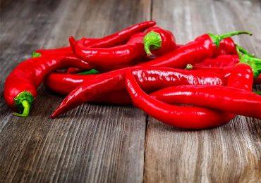 Com ação anti-inflamatória as pimentas são essenciais.