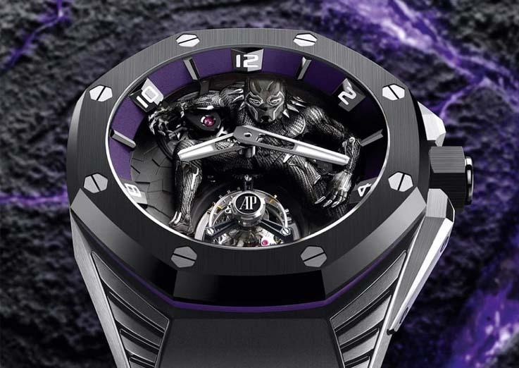 Marca de Luxo Audemars Piguet Faz Parceria Com Marvel e Lança Relógio de 1 Milhão De Reais
