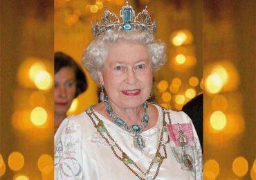 Rainha Elizabeth e as Águas Marinhas