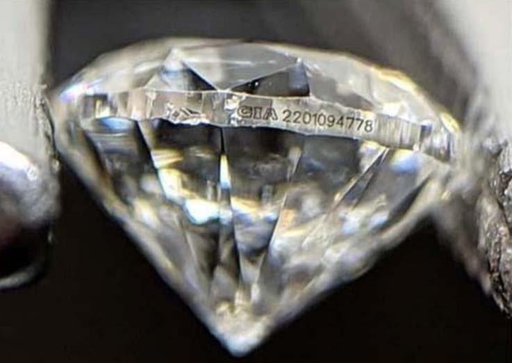 Como os diamantes são certificados?