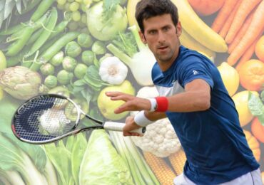 A dieta do Tenista Novak Djokovic