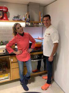 Chef Vanessa e William