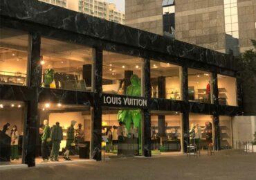 A pop-up store da Louis Vuitton